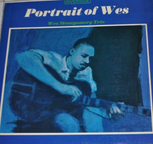 Wes Montgomery - portrait of Wes - Riverside - mono